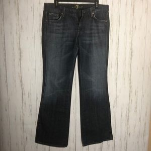 7 of All Mankind boot cut Jeans Size 32